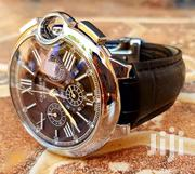 Cartier With Leather Straps And Butterfly Style Lock | Watches for sale in Central Region, Kampala