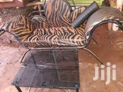Stylish Sofa Bed Plus It's Glass Table | Furniture for sale in Central Region, Kampala