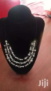 Multi Layer Chocker Silver And Black Necklace | Watches for sale in Central Region, Kampala