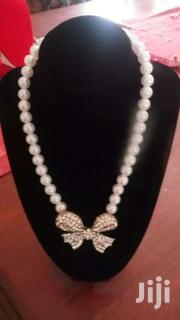 Gold And Silver Stone Chocker Pearl Necklace | Watches for sale in Central Region, Kampala