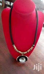 Crystal Stone Gold Pendant Necklace | Watches for sale in Central Region, Kampala