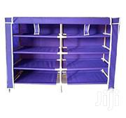 4 Layer Shoe Rack - Purple | Furniture for sale in Central Region, Kampala