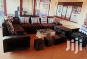 U Sofa, 1 Seater And Glass Centre Table.   Furniture for sale in Central Region, Kampala
