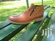 Leather Detailed Boots | Clothing for sale in Western Region, Kisoro