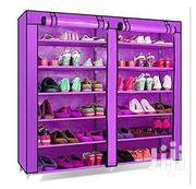 36pair Metallic Frame Shoe Rack | Clothing for sale in Central Region, Kampala