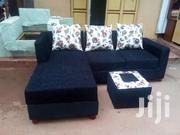 Black Floral Seats With A Pouf | Furniture for sale in Central Region, Kampala