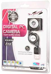 Shivox Plug & Play Retractable Wire 8 Mega Pixels Digital PC Camera | Clothing Accessories for sale in Central Region, Kampala