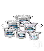 SQ Professional 6pc Aluminium Casserole Set Taurus 26-40cm - Silver | Kitchen & Dining for sale in Central Region, Kampala