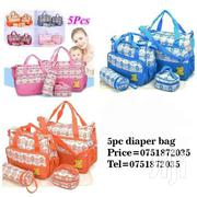 Flowered 5pc Diaper Bag   Home Appliances for sale in Central Region, Kampala