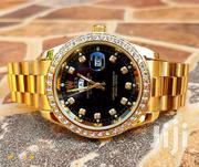 Rolex Oyster With Stones Golden Color | Watches for sale in Central Region, Kampala