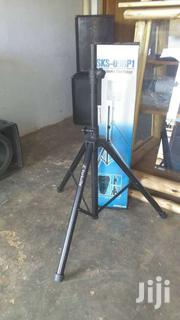 Pair Of Steel Speaker Stands With Carrying Bag. | TV & DVD Equipment for sale in Nothern Region, Gulu