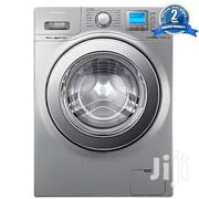 Samsung WF1124XAU 12kg Front Load Washing Machine - Silver | Home Appliances for sale in Central Region, Kampala