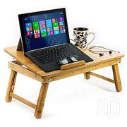 Adjustable Laptop Table Reading  Or Breakfast In Bed Table  Brown | Furniture for sale in Central Region, Kampala
