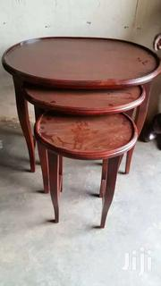 Nest Of Tables 3 & Abit Large. | Furniture for sale in Western Region, Kisoro