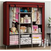 3 Column Wooded Clothe Rack Maroon | Furniture for sale in Central Region, Kampala