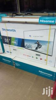 55 Inches Sky Worth Led Smart Android Digital 4k Slim Flat Screen Tv | TV & DVD Equipment for sale in Central Region, Kampala