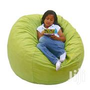 Single Seater Deluxe Bean Bag - Green | Furniture for sale in Central Region, Kampala