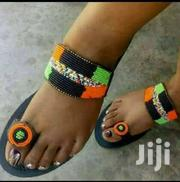 African Craft Beaded Maasai Sandals | Clothing for sale in Eastern Region, Mbale