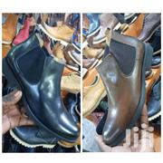 Clarks Leather High Top Black And Brown Color In Original | Clothing for sale in Central Region, Kampala