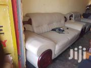 5 Seater Leather Sofa   Furniture for sale in Central Region, Kampala