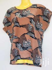 Brown Zebra Print Top | Clothing for sale in Central Region, Kampala