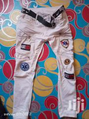 Badged Jean Trousers | Clothing for sale in Central Region, Kampala