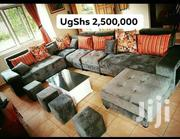 U Sofa, Centre Table and 4 Poufs   Furniture for sale in Central Region, Kampala