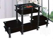Glass Tv Stand Black | Furniture for sale in Central Region, Kampala