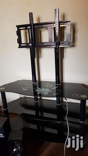 Glass Table With A TV Stand | Furniture for sale in Central Region, Kampala