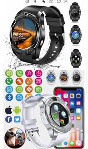 Bluetooth Simcard+Camera Smart Watch V8s | Smart Watches & Trackers for sale in Central Region, Kampala