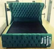 Green Bed 5 by 6 | Furniture for sale in Central Region, Kampala