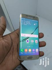 Samsung Galaxy S6 Edge (Minor Crack) Perfect Condition Fingerprint | Mobile Phones for sale in Central Region, Kampala