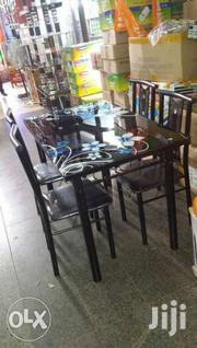 Glass And Metallic Dinning | Furniture for sale in Western Region, Kisoro