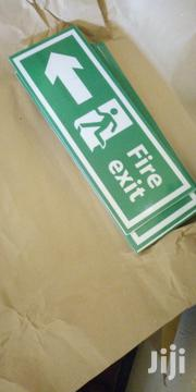 Fire Exit Signage | Safety Equipment for sale in Central Region, Kampala