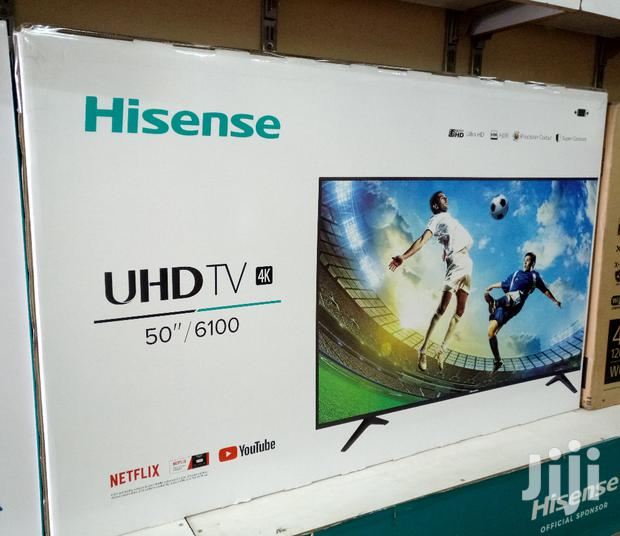 "HISENSE Smart UHD 4k Flat Screen Digital TV 50"" Inches"