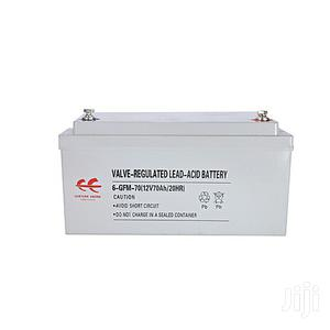 Ee12v 70ah Solar Storage Battery With 1 Year Warranty