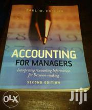 Accounting For Managers | CDs & DVDs for sale in Central Region, Mukono