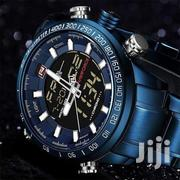 Blue Stainless Steel Naviforce Watch | Watches for sale in Central Region, Kampala