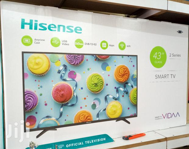 "HISENSE Smart 43"" Flat Screen Digital TV"
