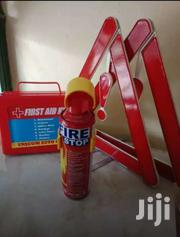First Aid Kit. Fire Stopper And Reflector Triangle | Vehicle Parts & Accessories for sale in Central Region, Kampala