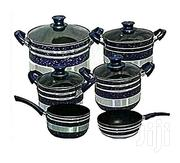 10PC Non Stick Cookware Set - Blue | Kitchen & Dining for sale in Central Region, Kampala