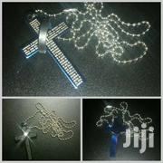 Bible Cross Ring Titanium Steel Necklace | Watches for sale in Central Region, Kampala