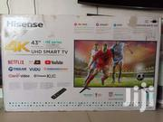 Brand New Boxed Hisense 43 Inches Smart 4k UHD | TV & DVD Equipment for sale in Central Region, Kampala