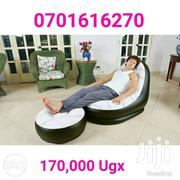 Air Inflated Chair With Footrest | Furniture for sale in Western Region, Kisoro