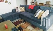 Strong 6 Seater Navy Blue L- Shape Chair | Furniture for sale in Central Region, Kampala