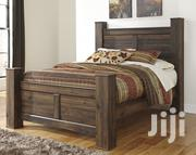 5*6 Simple Hard Wood Bed | Furniture for sale in Central Region, Kampala