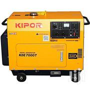 KDE7000T 6KVA Kipor Generator - Yellow | Electrical Equipments for sale in Central Region, Kampala