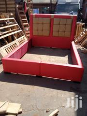 Modern Leather Bed   Furniture for sale in Central Region, Kampala