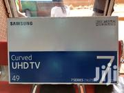 Curved Samsung 49inches Smart UHD 4K   TV & DVD Equipment for sale in Central Region, Kampala