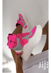 Pink Sneakers Also Available In Neon Green | Shoes for sale in Central Region, Wakiso